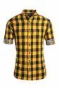 Yellow Men Casual Shirt