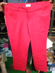 Plain Red Trouser