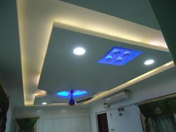 Modern Home False Ceiling Study Room Ceiling Design Service