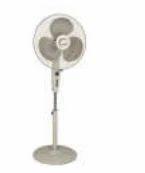 Khaitan Flora Premium Sweep 400 mm Pedestal Fan