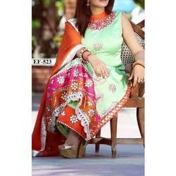 Women Cotton Hand Embroidered Suits