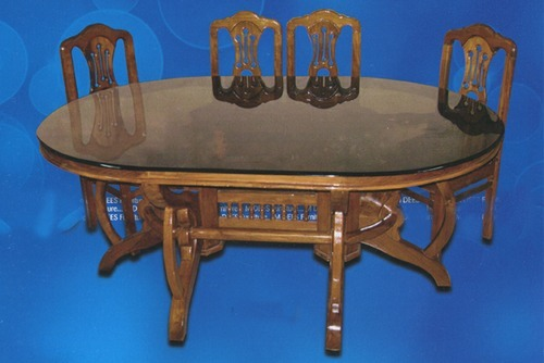 Sulochana life style furnitures pollachi manufacturer for Dining table dressing