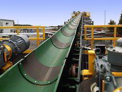 Rubber Bulk Handling Conveyors, Capacity: 1-50 And 200-300 Kg Per Feet