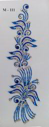 Stiker Mehendi Tattoo