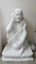 Marble Shri Sai Baba Moorti