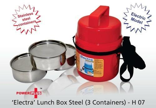 Electra Lunch Box Steel 3 Containers
