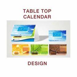 Table Top Calendar Design