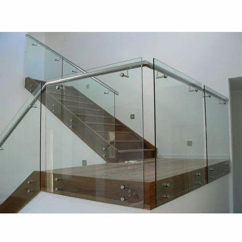Stainless Steel Railings Glass Handrails Installation: Stainless Steel Glass Railing