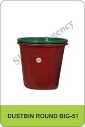 Big Round Dustbin