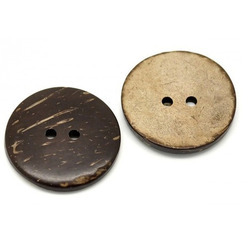 Kasturi Coconut Brown Coconut Shell Button
