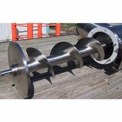 MS Screw Conveyor Fabrication Service