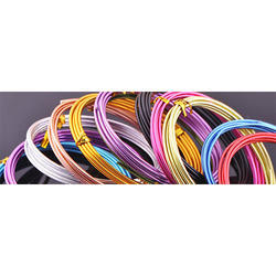 Coloured Aluminum Wires