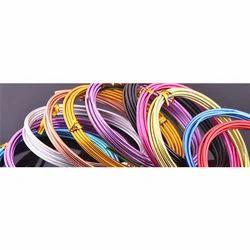 彩色铝电线