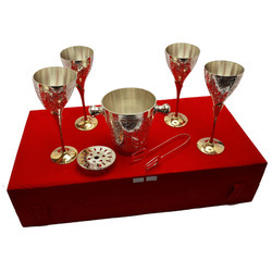 Silver Wine Glass Chandi Ka Sharab Ka Glass Suppliers