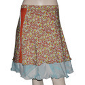 Flowers Girls Skirt