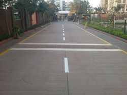 Thermoplastic Road Marking Painting
