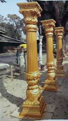FRP Decorative Rajasthani Pillars