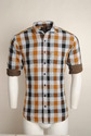 Multi Coloured Checked Urban Design Casual Shirts