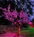 Pink LED Tree