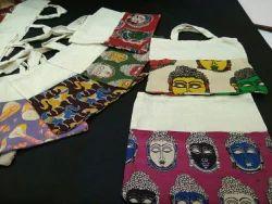 Kalamkari Multicolor Cloth Bags