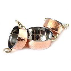 Copper Hammered Mini Casserole Portion Dishes