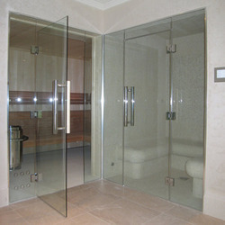 Glass Steam Rooms for Spa Centers