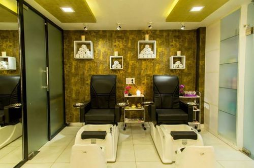 Spa Parlour Interior Design Services In Star City Mall Delhi Extraordinary Parlor Interior Design Property