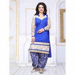 Pure Silk Salwar Suits