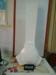 White MS 1200 mm Zest Fan, Warranty: 1 Year