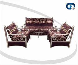 Designer Steel Sofa Set At Rs 15500 Unit Steel Sofa Id 11489306112