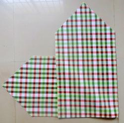 Woven Checked Table Runner