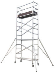Mobile Aluminum Scaffold Tower Without Stairway