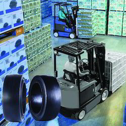Forklift Truck Resilient Solid Tyres