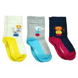 Kids Designer Wear Fancy Coloured Socks