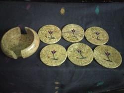 Soap Stone Coaster Inlay
