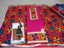 Phulkari Embroidery Suit