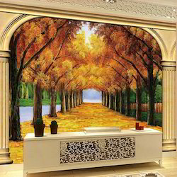 3D Painting Services 3d wall painting 3d floor painting in India