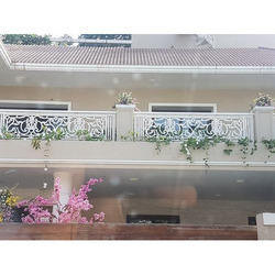 Stainless Steel Steel Balcony Railing, For Home