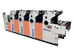 4 Color Non Woven Offset Printing Machine