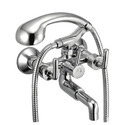 Ciko Brass Wall Mixer Telephonic With Crutch, For Bathroom Fittings, Size: 15mm