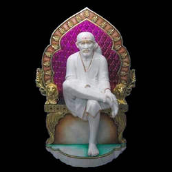 Marble Shirdi Sai Baba Sculpture