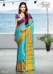 Exclusive Cotton Printed Saree