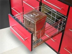 Kitchen trolleys in pune maharashtra india indiamart for Modular kitchen trolley designs