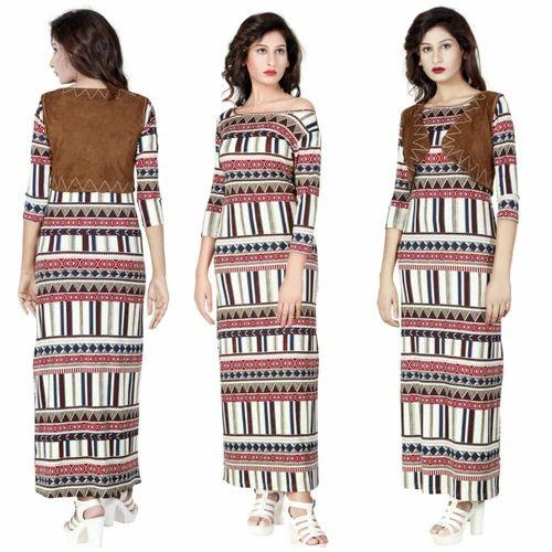 074c830c6aaf Women Multicolor Party Wear Gowns