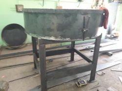 Ms Metal Green Pan Mixer 300 Kg Machine, Capacity (Litre): 600