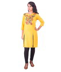 3e62546bc9d Cotton Hand Painted Patachitra Kurti