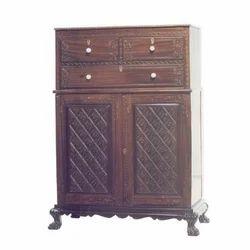 Antique Colonial Cabinet