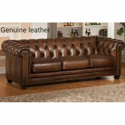 Merveilleux Genuine Leather Sofa Fabric