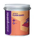 Asian Paints Soft Sheen Apex Floor Guard, Packaging Type: Can, Packaging Size: 1 And 4 Liter