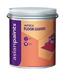 Asian Paints Apex Floor Guard, Packaging Size: 1 And 4 Liter